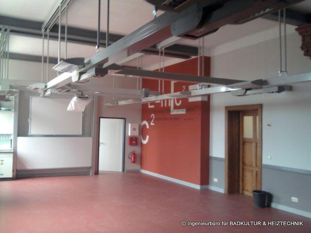 Umbau Fachunterrichtsraum Physik Gerhart-Hauptmann-Gymnasium