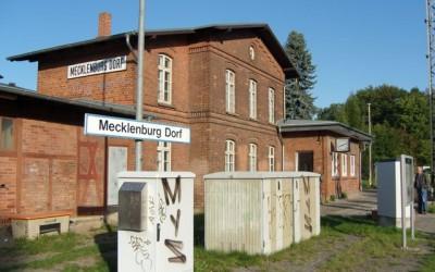 ehem. Bahnhofsgebäude in Dorf Mecklenburg