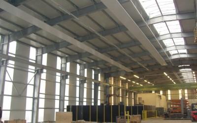 Erweiterung / Neubau Produktionshalle