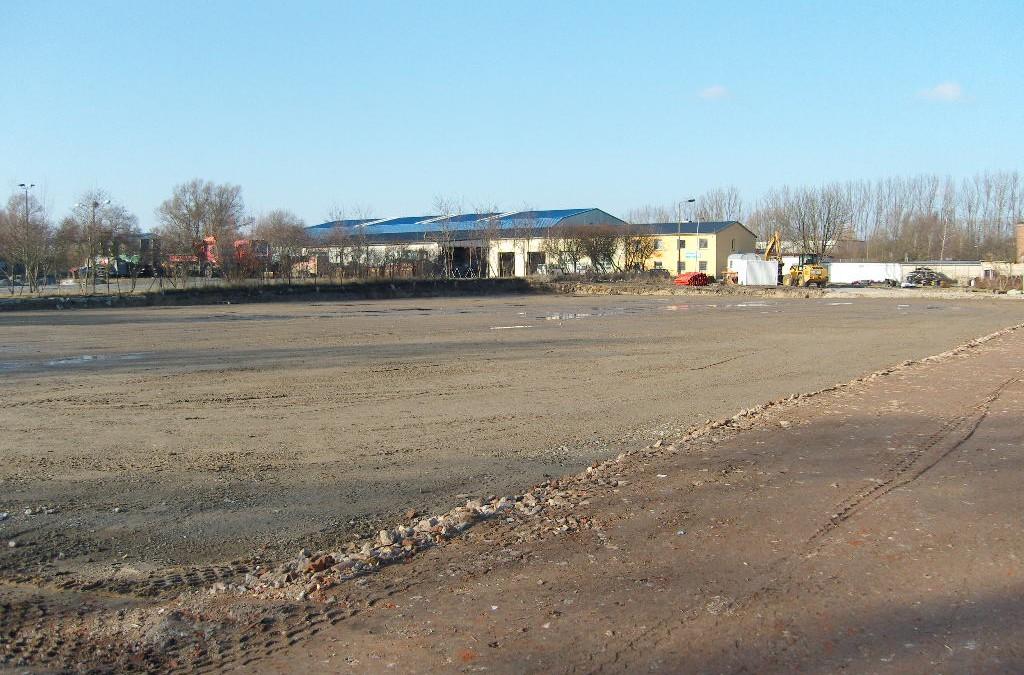 Neubau Zentrallager Wismar
