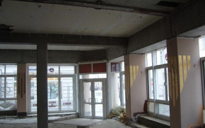 Umbau Geschäftshaus Sparda Bank