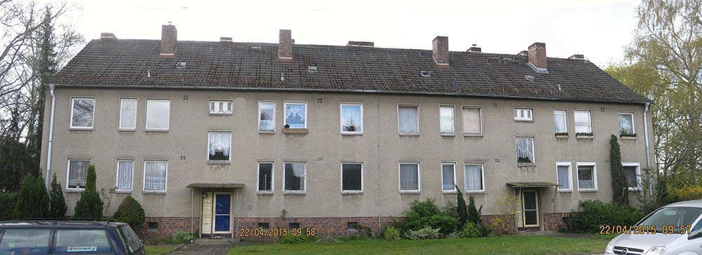 Sanierung 10WE Wohnblock Schwerin
