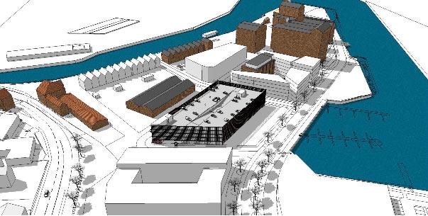 Neubau Parkhaus am Alten Hafen