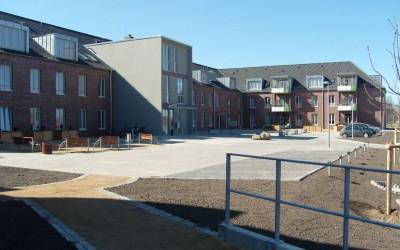 Sanierung des ehemaligen Kasernengeländes zum Pflegezentrum